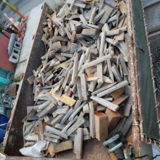 薪150kg 廃木材 薪ストーブ、キャンプに