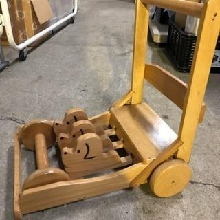 懐かしの…赤ちゃんの手押し車。