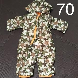 70 新品 スキップランド ジャンプスーツ 中綿