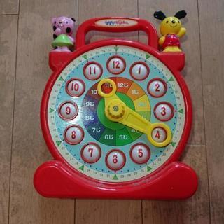 おもちゃ時計  時間の勉強用