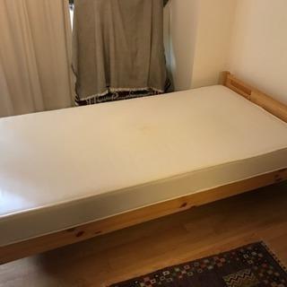 【値下げ】無印良品 シングルベッド