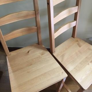 IKEA 椅子2脚 ②