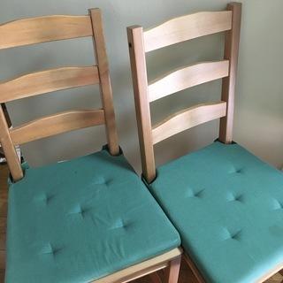 商談中 IKEA 椅子2脚 ①
