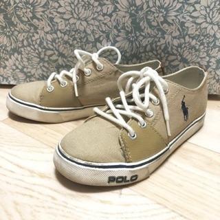 ラスト値下げ★ Polo ラルフローレンの子供の 靴 スニーカー ★