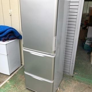 【美品】2015年製SHARP3ドア冷蔵庫350L