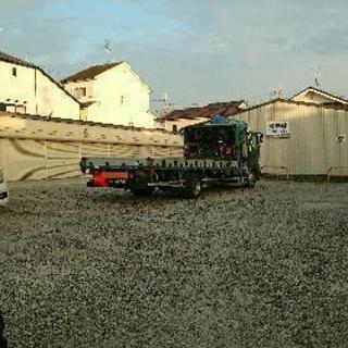 最安値 月極駐車場  京奈和、南阪奈近く便利  大型、重機、キャン...