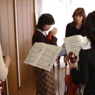 弦楽器の個人指導受けられます