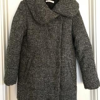 美品 ライトオン VIVIAN BLUE中綿入りもこもこジャケット