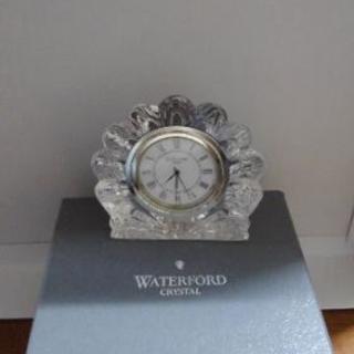 [未使用品]クリスタル置時計