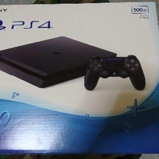 新品PS4 値下しました。500GBジェットブラックCUH200...