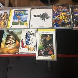 ゲームソフト、ゲームカセット(PS3,PSP,Wii,DSなど)