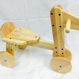 木馬風 三輪車 子供用 手作りです 値引きしました