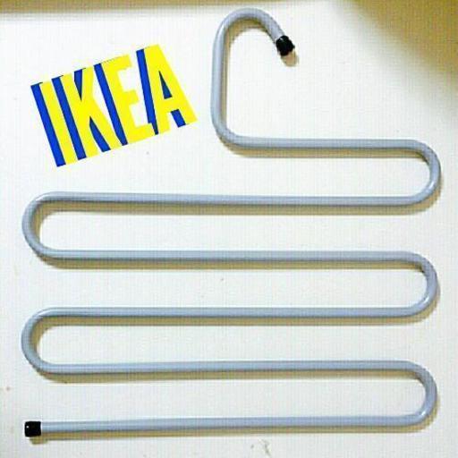 美品【IKEA/イケア】BRALLIS/ズボンハンガー/洋服ハンガー (ラベンダー♡)  茅ヶ崎の収納家具《タンス、衣類収納》の中古あげます・譲ります|ジモティーで不用品の処分