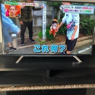 テレビ台 コンセント2口付き