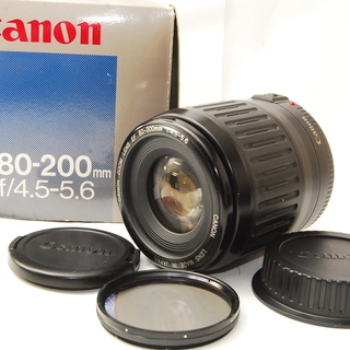 Canon EF80-200mm f4.5-5.6 難有り 2525