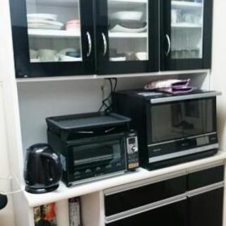 国産キッチンボード 鏡面BLACK