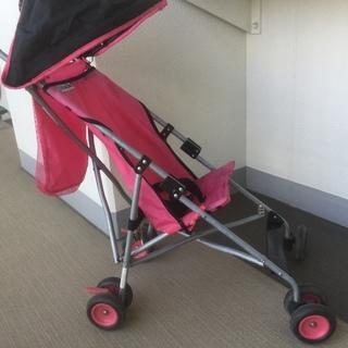 ベビーカー ピンク 無料で差し上げます!