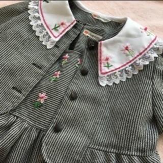 美品⭐︎フォーマル服 ワンピース ジャケット 2点セット 110...