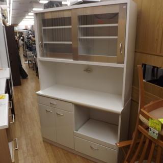 レンジボード キッチンボード キッチン収納 幅120cm ホワイト...