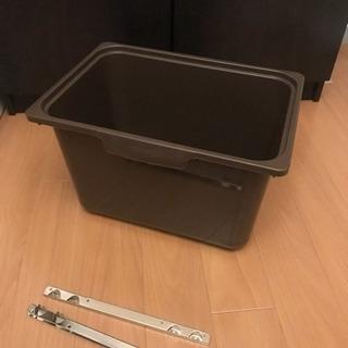 ニトリ カラーボックス用 プラスチックケース
