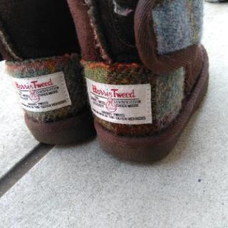ブーツ ハリスツイード 15cm