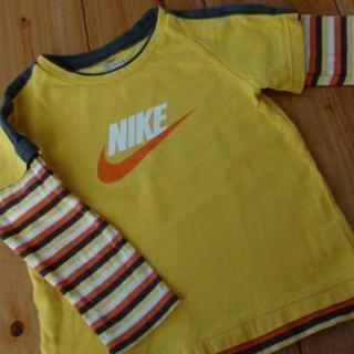 ナイキ NIKE ロンT 100 長袖 Tシャツ の画像