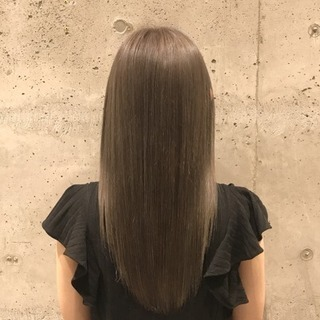 【艶髪】縮毛矯正+カット+リペアト...