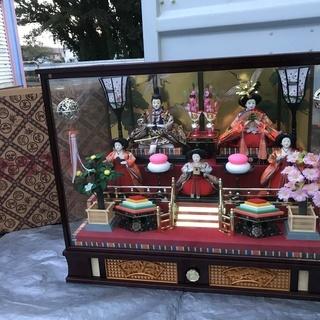 雛人形 雪洞 オルゴール セット 直接引取り限定!!