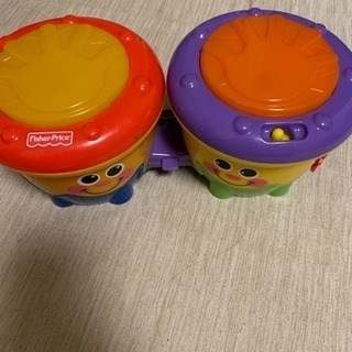 幼児用タイコのおもちゃ