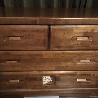 (お譲りする方決定済みです)木製チェスト