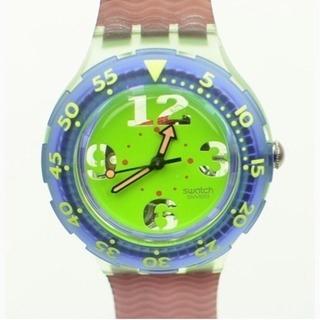♥️ ヴィンテージ スウォッチ🔺ダイバーカラフルなスイス製時計♥️