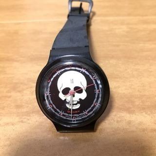 ♦️ドクロ腕時計♦️