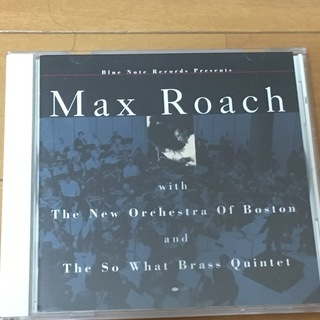 Max Roach With the Boston Orches...