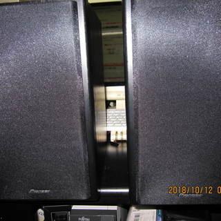 ほとんど未使用、パイオニアスピーカーX-HM81-S(2本一組)...