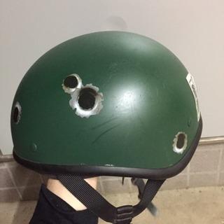 【売】バイク用 ダックテール ヘルメット 自家塗装
