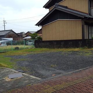 亀山市中心街 借地(個別駐車場としても利用可)