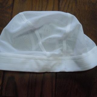 MIZUNO ミズノ 水泳 帽子 スイム キャップ 白