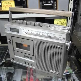 ラジカセ ソニー/SONY 1977年製 オブジェに カセットジ...