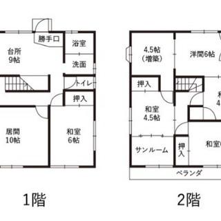 【福島、DIY可、格安】アトリエ、倉庫、事務所、住居など自由に利用可