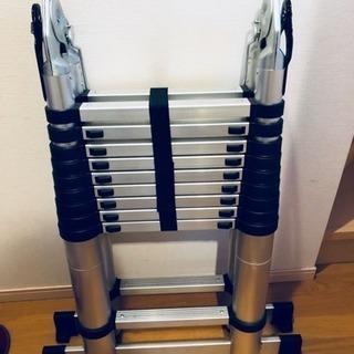 アルミはしご 伸縮 6.2m 段階調節可能
