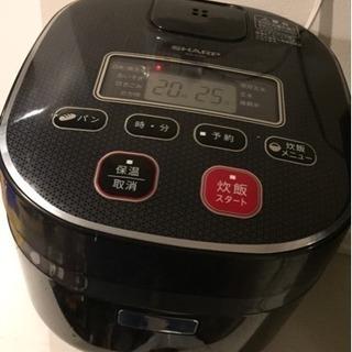 SHARP 炊飯器 3合炊き