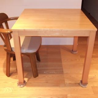 1人用ダイニングテーブル&椅子