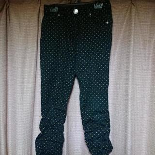 ズボン(ブラック×黄ドット)