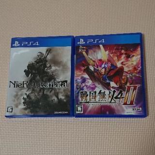 PS4  ニーア オートマタ  戦国無双4-ll