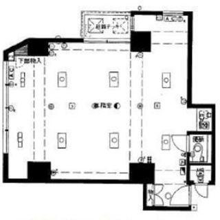 事務所 心斎橋駅・堺筋本町駅利用可 1LDK