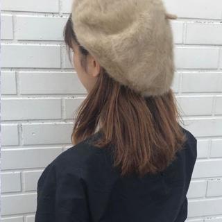 【Me%】シャギーベレー ベージュ ベレー帽