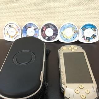 初代pspポータブル ゲームカセット付き