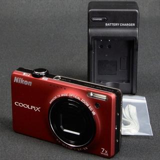 Nikon デジタルカメラ COOLPIX S6000 フラッシュ...