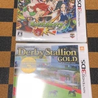 【お取引中】3DSソフト2本 未開封