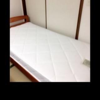 【中古】シエラ パイン材すのこベッド‼️